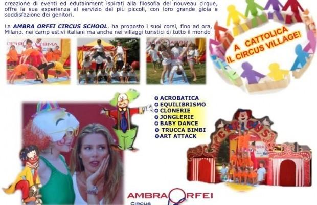 Circus Village di Ambra Orfei